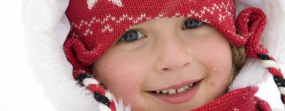 pielęgnacja skóry dzieci zimą
