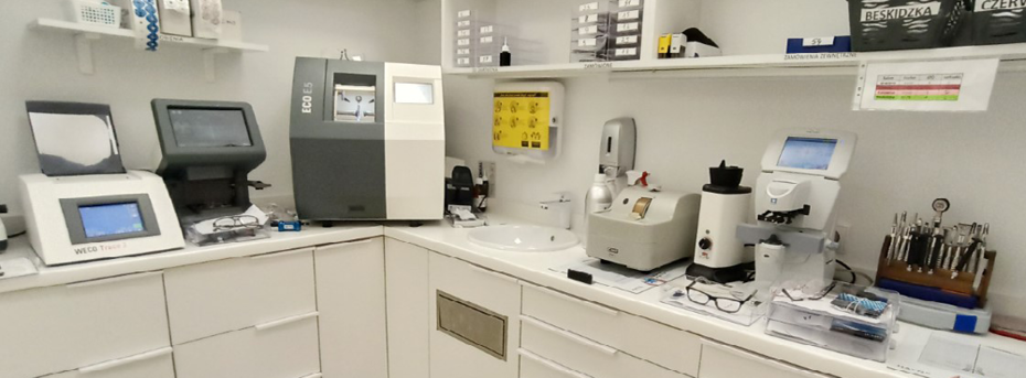 Szlifiernia w salonach optycznych Ziko Optyk